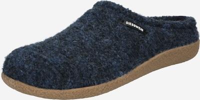 Papuci de casă GIESSWEIN pe bleumarin / albastru închis, Vizualizare produs