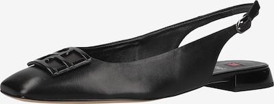 Högl Ballerina met riempjes in de kleur Zwart, Productweergave