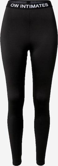 OW Intimates Leggings en noir / blanc, Vue avec produit