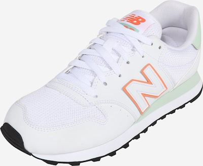 new balance Baskets basses en orange / blanc, Vue avec produit