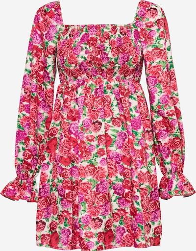 Missguided Robe en mélange de couleurs / rose, Vue avec produit