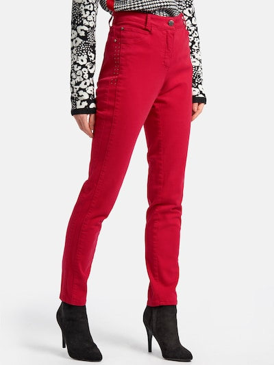 Basler Jeans 'JULIENNE ' in rot, Modelansicht