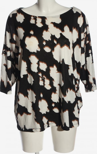 F&F Clothing & Fashion Kurzarmpullover in 5XL in braun / schwarz / weiß, Produktansicht