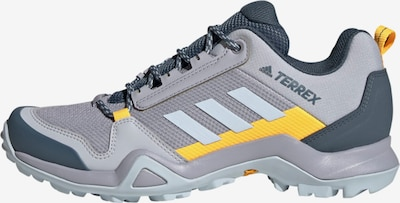adidas Terrex Outdoorschuh 'TERREX AX3' in pastellblau / gelb / grau, Produktansicht