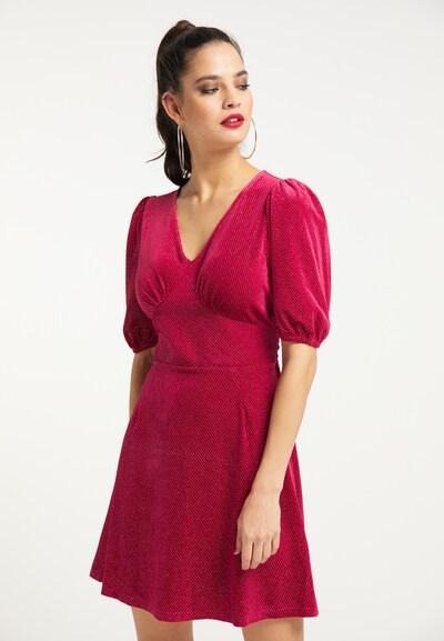 faina Kleid in fuchsia, Modelansicht