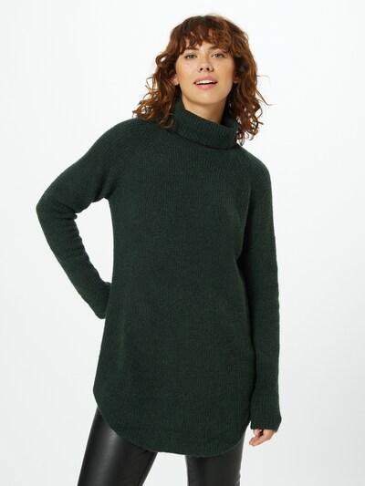 PIECES Pullover in dunkelgrün, Modelansicht