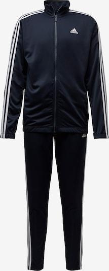 Treniruočių kostiumas iš ADIDAS PERFORMANCE , spalva - tamsiai mėlyna / balta, Prekių apžvalga