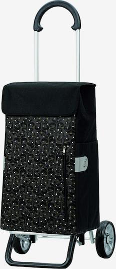 Andersen Shopper Einkaufstrolley 'Scala' in gold / grau / schwarz / weiß, Produktansicht