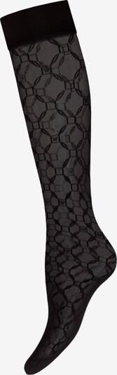 Wolford Chaussettes montantes 'Aurora' en noir, Vue avec produit