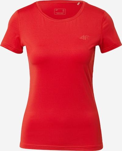 4F Sportshirt in melone / hellrot, Produktansicht