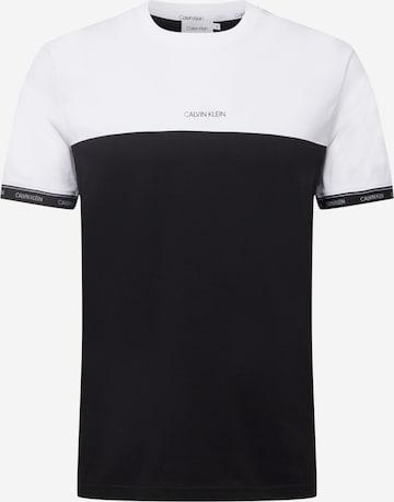 Calvin Klein Тениска в черно