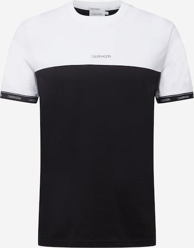 Calvin Klein T-Shirt in schwarz / weiß, Produktansicht