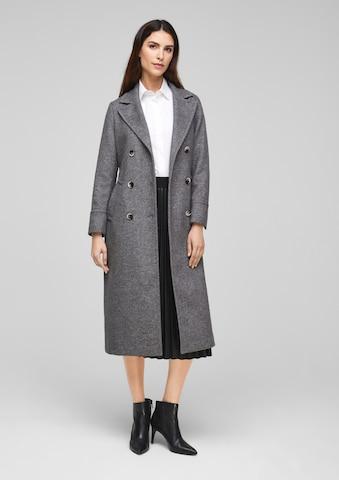 s.Oliver BLACK LABEL Between-Seasons Coat in Grey