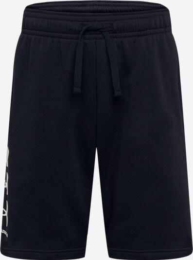 UNDER ARMOUR Sporta bikses melns / balts, Preces skats