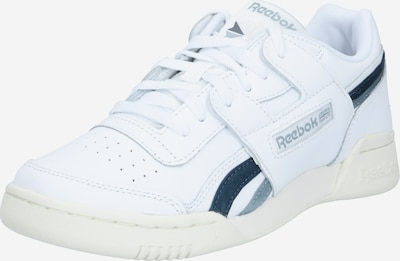 Reebok Classic Sneakers laag 'Workout Lo Plus' in de kleur Smoky blue / Wit, Productweergave