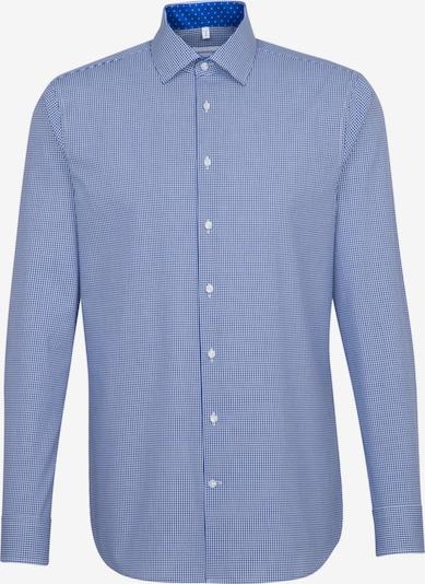 SEIDENSTICKER Business Hemd ' Shaped ' in blau, Produktansicht