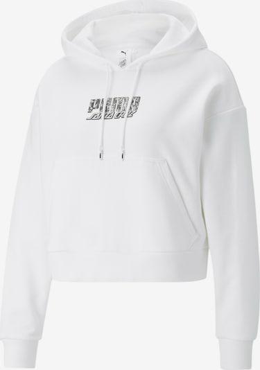 PUMA Sweatshirt in Black / Off white, Item view