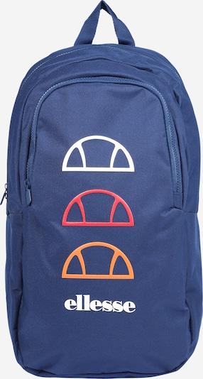 ELLESSE Sac à dos 'ZAVANO' en bleu marine / orange / rouge / blanc, Vue avec produit
