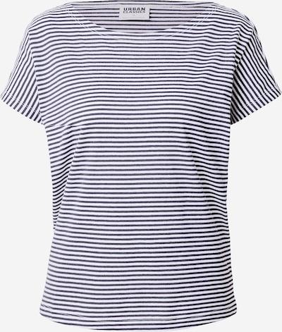 Urban Classics Shirt in navy / weiß, Produktansicht