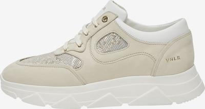 Van Lier Sneaker in beige / gold / offwhite, Produktansicht