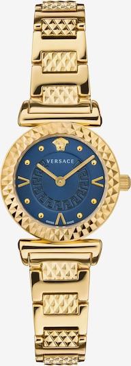VERSACE Uhr in blau / gold, Produktansicht