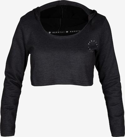 MOROTAI Sportsweatshirt in anthrazit / weiß, Produktansicht