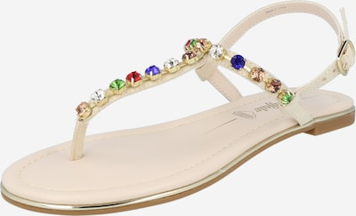 Sandale 'Rachel Diamonds' BUFFALO pe bej / culori mixte, Vizualizare produs
