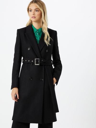 DRYKORN Manteau mi-saison 'Holman' en noir, Vue avec modèle