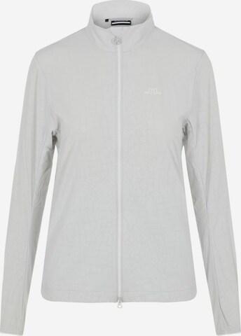 J.Lindeberg Athletic Jacket 'Akira' in Grey