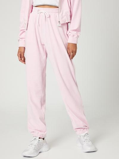 VIERVIER Hose 'Rieke' in rosa, Modelansicht