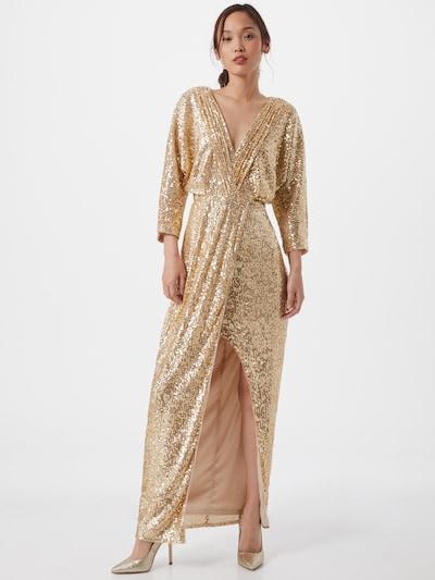 TFNC Kleid 'REEVE' in gold, Modelansicht