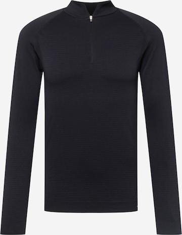 Hummel Sportsweatshirt in Schwarz