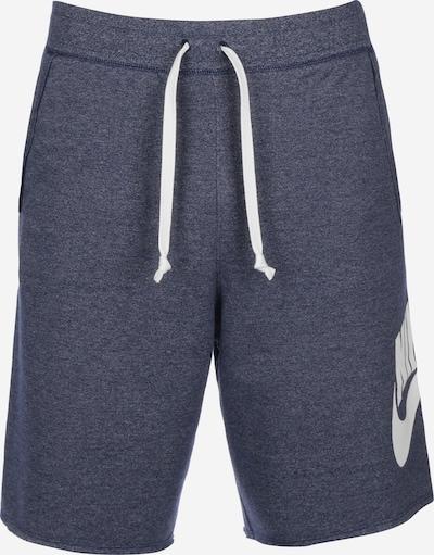 Nike Sportswear Shorts in blau: Frontalansicht