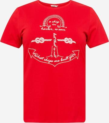 Z-One - Camiseta 'Kathleen' en rojo