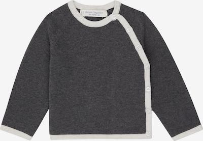 Geacă tricotată 'P. PICASSO' Sense Organics pe gri metalic / alb, Vizualizare produs