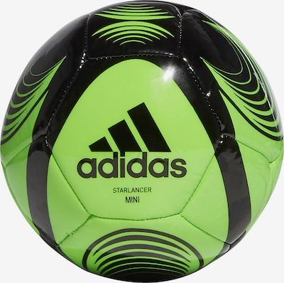 ADIDAS PERFORMANCE Ball in grün / schwarz, Produktansicht