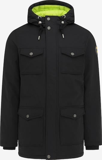MO Winterjas in de kleur Limoen / Zwart, Productweergave