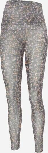 MAMALICIOUS Leggings 'Clementine' i blandingsfarvet / sort, Produktvisning