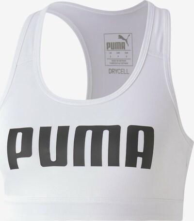 PUMA Sport-BH in weiß, Produktansicht