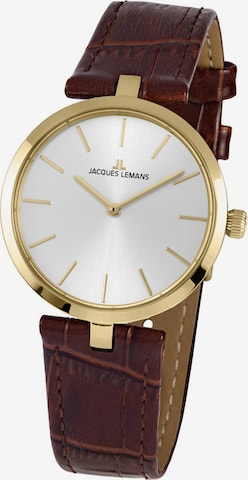Jacques Lemans Analog Watch ' ' in Brown