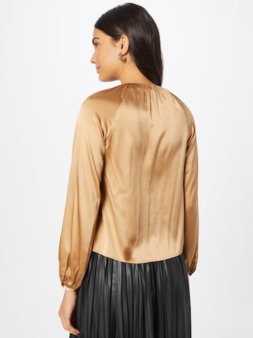 PINKO Blouse 'FAMATINA' in Gold