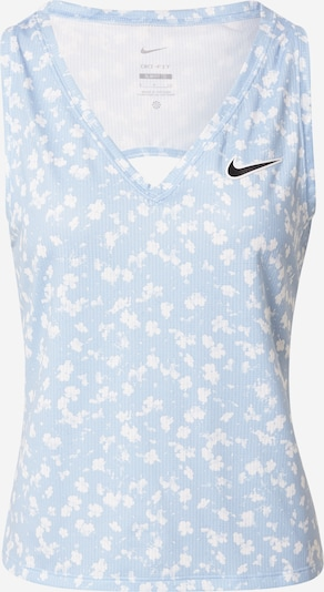 NIKE Sports Top 'Victory' in Light blue / White, Item view