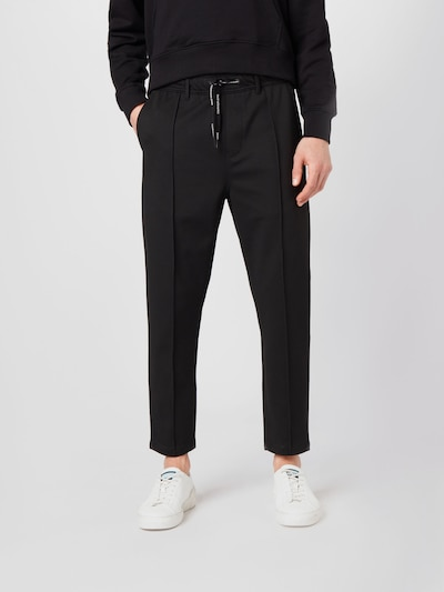 Calvin Klein Jeans Housut 'Galfos Milano' värissä musta, Mallinäkymä