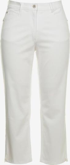 Ulla Popken Jeans in de kleur White denim, Productweergave