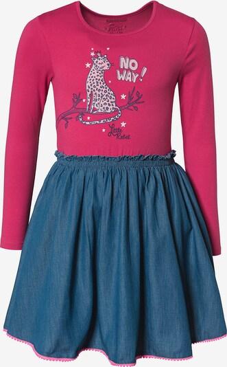 STACCATO Kleid in blau / pink, Produktansicht