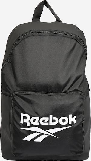 REEBOK Rucksack in schwarz / weiß, Produktansicht