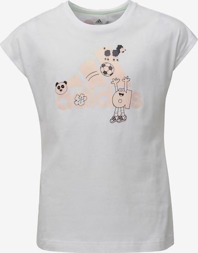 ADIDAS PERFORMANCE Trainingsshirt 'Cleofus' in pfirsich / weiß, Produktansicht