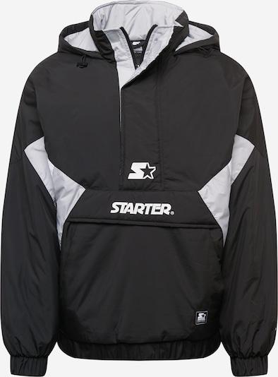Starter Black Label Between-season jacket in Black / White, Item view
