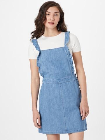 ONLY Kleid 'VILJA' in Blau