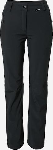 ICEPEAK - Pantalón de montaña en negro